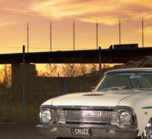 Cream Ford Falcon XM Coupe Sticker