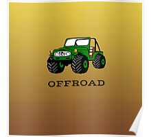 Off-Roading Poster