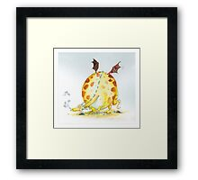 WE love DRAGONS Framed Print