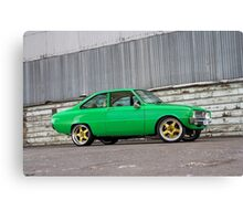Green Mazda R100 Canvas Print