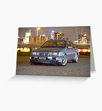 Ford Sierra RS Cosworth Greeting Card