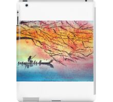 The old man and the river iPad Case/Skin
