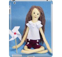 Celebrate Felt Doll iPad Case/Skin