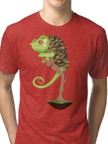 Full Metal Chameleon  Tri-blend T-Shirt