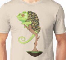 Full Metal Chameleon  Unisex T-Shirt