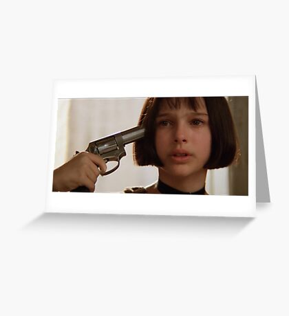 Mathilda the Professional Greeting Card