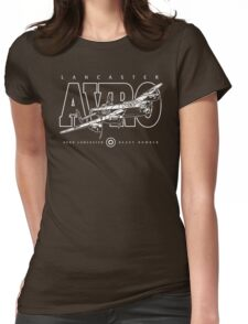 Lancaster Bomber Womens Fitted T-Shirt