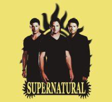 Supernatural 3 Baby Tee