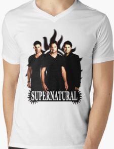 Supernatural 3 Mens V-Neck T-Shirt