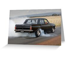Black EH Holden Greeting Card