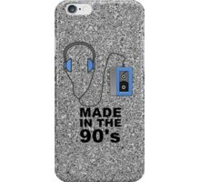The 90's Music Player iPhone Case/Skin