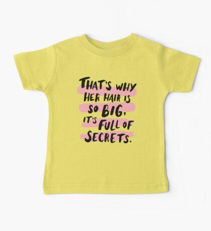 It's Full Of Secrets Baby Tee