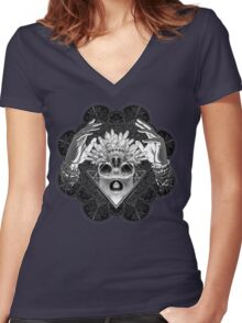 Winya No. 79 Women's Fitted V-Neck T-Shirt