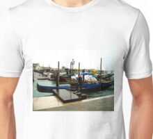 Beautiful venice taxi in old style. Unisex T-Shirt