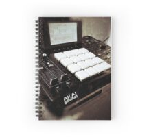 Akai Mpc 2500 Music Production Center Spiral Notebook