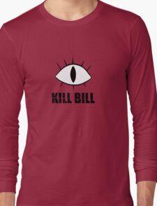 Kill Bill Cipher Gravity Falls Long Sleeve T-Shirt