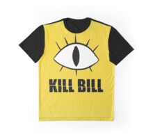 Kill Bill Cipher Gravity Falls Graphic T-Shirt