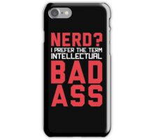 Nerd? iPhone Case/Skin