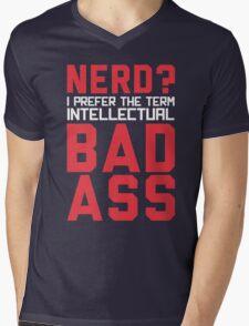 Nerd? Mens V-Neck T-Shirt