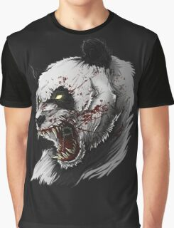 SALJU THE ANGRY PANDA Graphic T-Shirt
