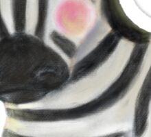 Wee Zebra Sticker