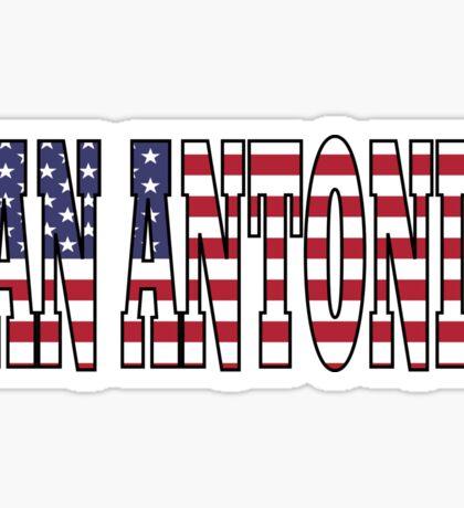 San Antonio. Sticker