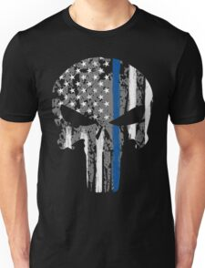 Punisher - Blue Line Unisex T-Shirt