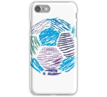 Soccer ball iPhone Case/Skin