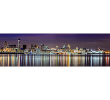 The Liverpool Waterfront Skyline Photographic Print