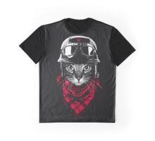 SALJU'S BIKER CAT Graphic T-Shirt