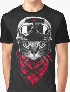 SALJU'S BIKER CAT Graphic T-Shirt