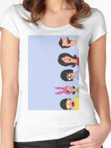 Belcher family Women's Fitted Scoop T-Shirt