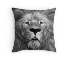 The Lord of the Jungle Throw Pillow