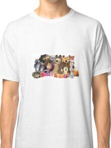 Masha and the bear Classic T-Shirt