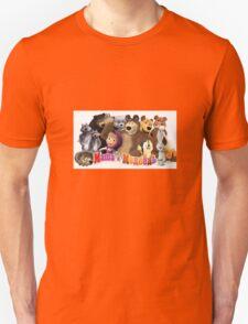 Masha and the bear Unisex T-Shirt