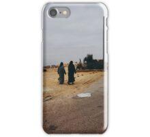Two Muslim Woman Walking in Street iPhone Case/Skin