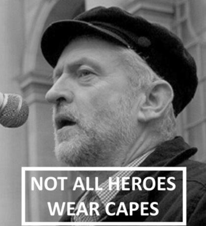 Jeremy Corbyn Hero Sticker
