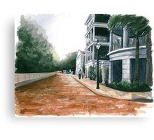 Concord Street Canvas Print