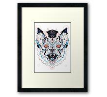 Meerkat Police Framed Print