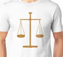 Scales of Justice Unisex T-Shirt