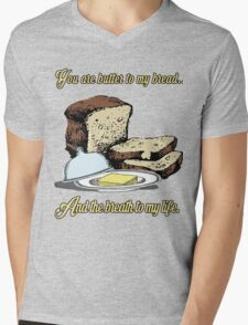 Butter to my bread.. Love Dictionary Art Mens V-Neck T-Shirt
