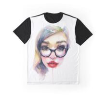 Librarian Girl Graphic T-Shirt