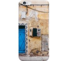 Wall Detail in Morocco iPhone Case/Skin