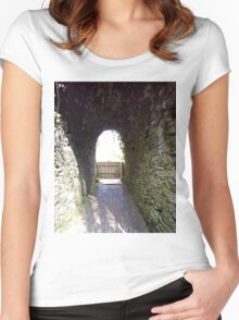 The Tunnel Women's Fitted Scoop T-Shirt