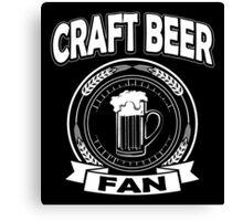 Craft Beer Fan Canvas Print