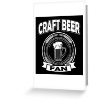 Craft Beer Fan Greeting Card