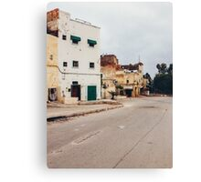 Suburban Houses in Morocco Canvas Print
