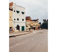Suburban Houses in Morocco Photographic Print