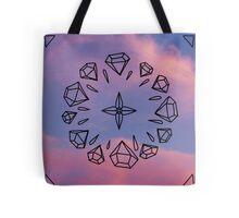 Diamond Compass Tote Bag