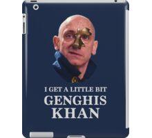 I Get A little Bit Genghis Khan iPad Case/Skin